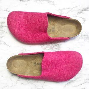 |•Birkenstock•| Hot Pink Mules